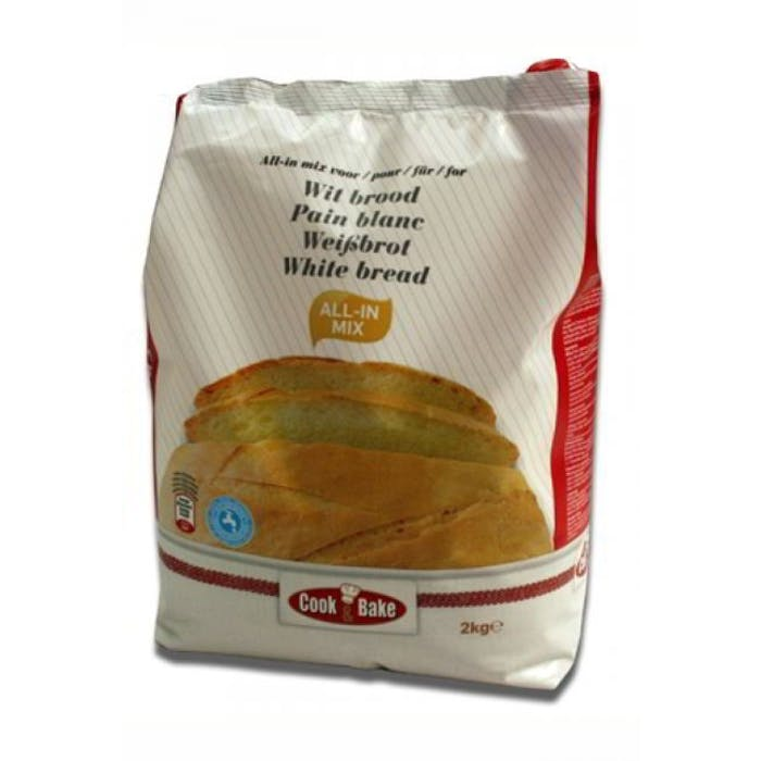 All-In mix voor wit brood 2kg Cook&Bake