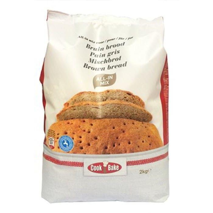All-In mix voor grijs brood 2kg  Cook&Bake