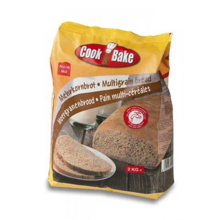 All-In mix voor meergranen brood 2kg Cook&Bake
