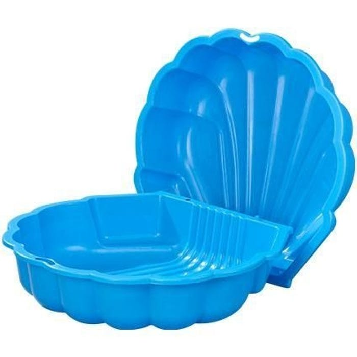 Zandbak Schelp Blauw set 2st