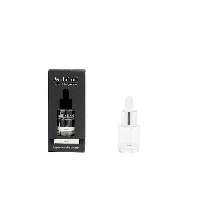 Fragrance hydrosoluble talco