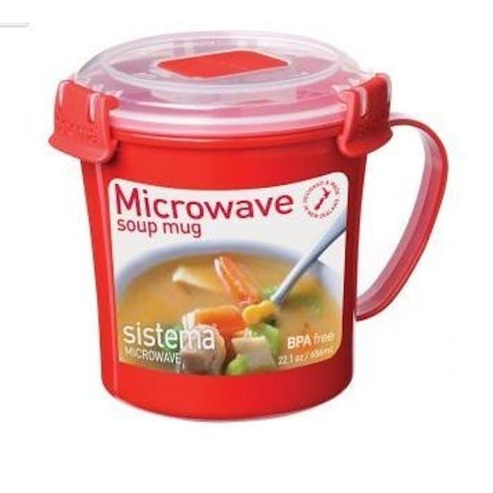 Microwave, Soup Mug Soepmok