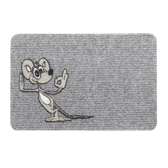 Flocky Happy Mouse  40x60cm