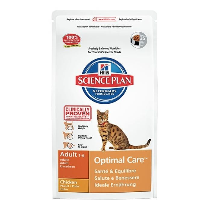 Hill's™ science plan™ feline adult optimal care™ chicken
