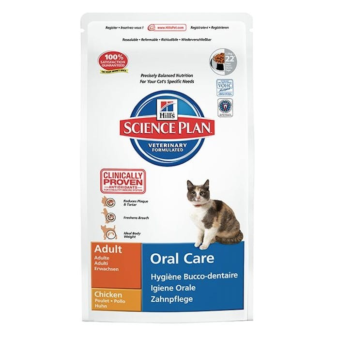 Hill's™ science plan™ feline adult oral care chicken