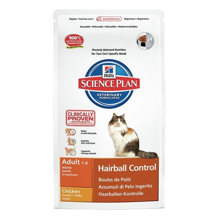 Hill's™ science plan™ feline adult hairball control chicken