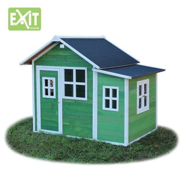Speelhuis loft 150 groen