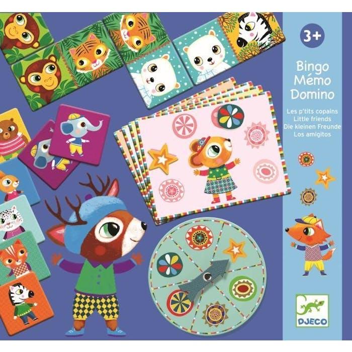 Domino, Memorie, Bingo