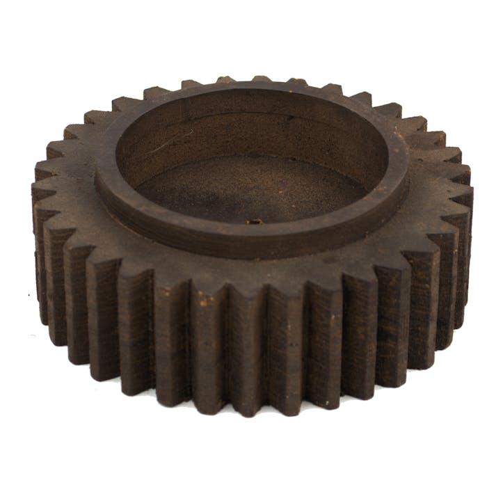 Kaarsenhouder tandwiel 15x5 cm