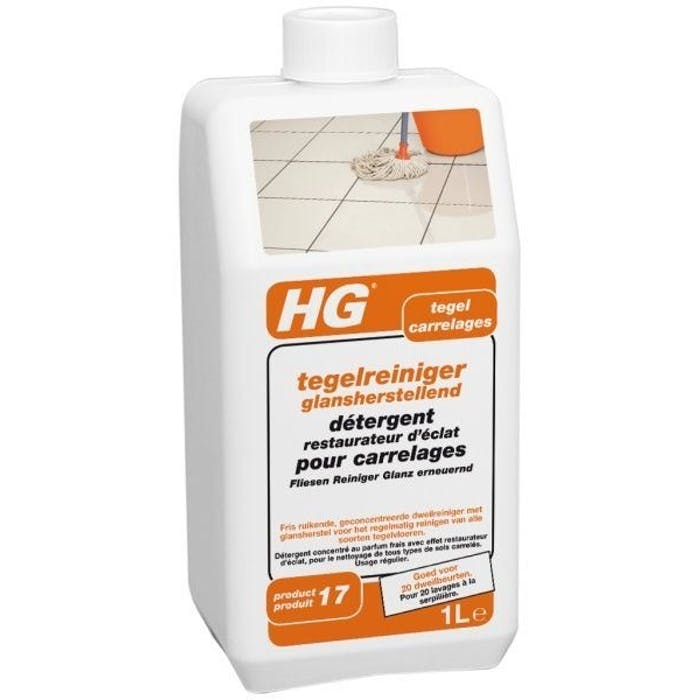 HG Tegelreiniger glansherstellend (vloerfris)