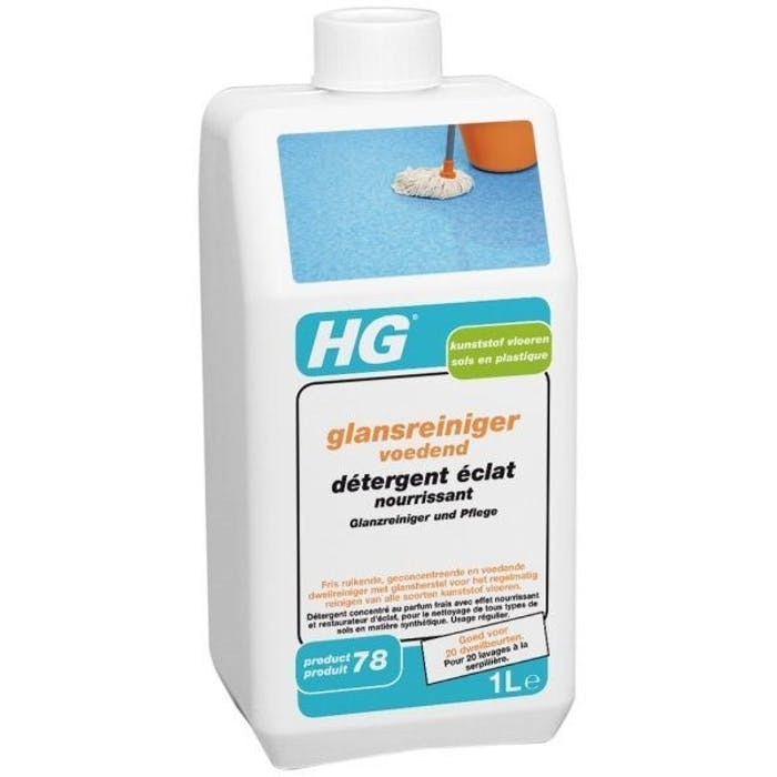 HG Glansreiniger voedend Kunststof vloeren