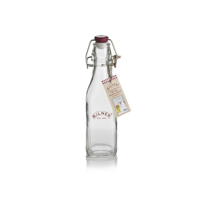 Kilner vierkante fles met beugelsluiting 250ml