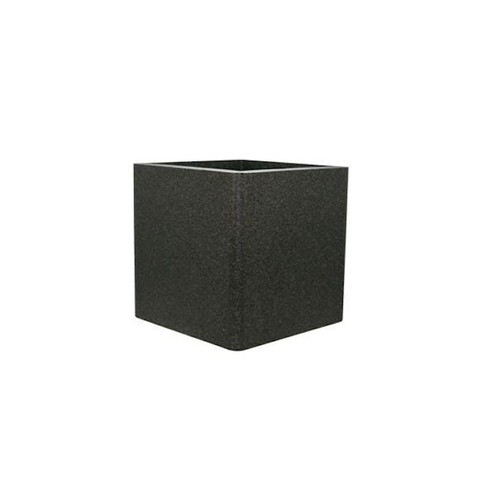 IQbana Pot Vierkant 39 cm Zwart - Sierpot