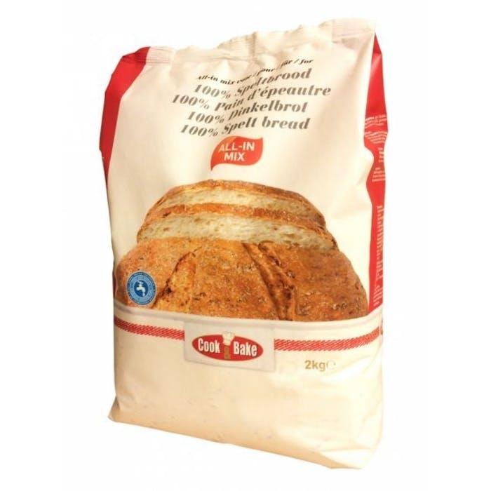 All-in mix voor speltbrood