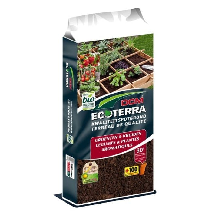 DCM Ecoterra® Groenten & Kruiden 30 L - BIO