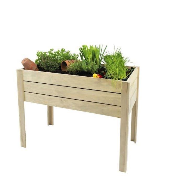 Minigarden op poten 100x50x80