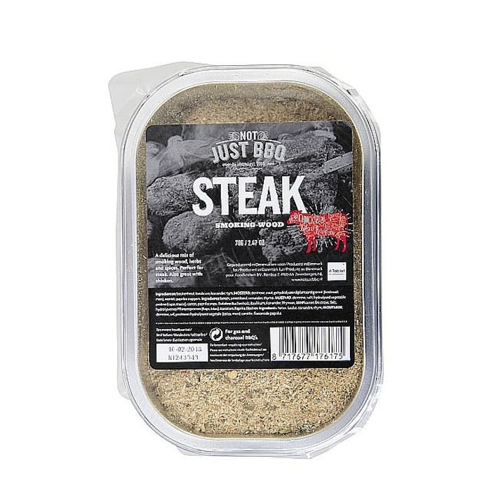 Smoking tray Steak single pack 70g