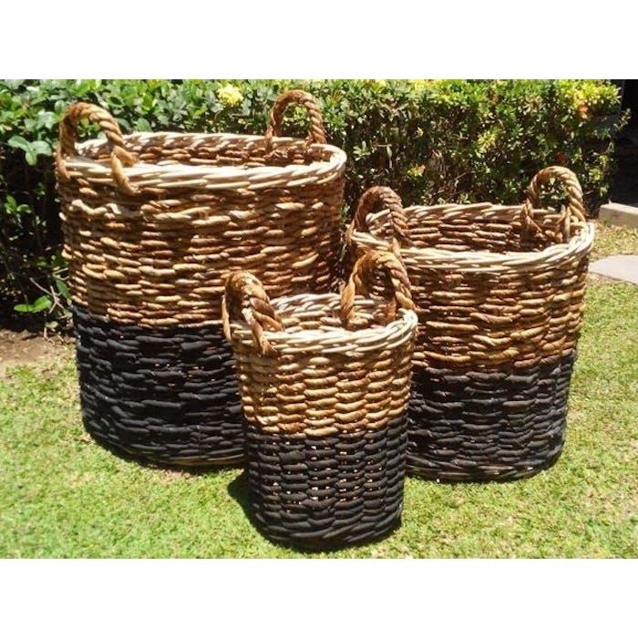 Basketcilinder Black 35 cm