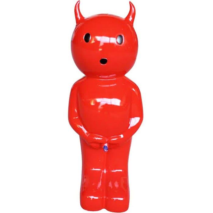 Spuitfiguur Boy Duivel groot kleur rood