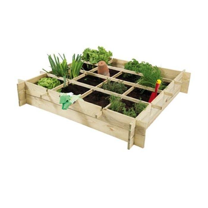 Minigarden vierkante meter