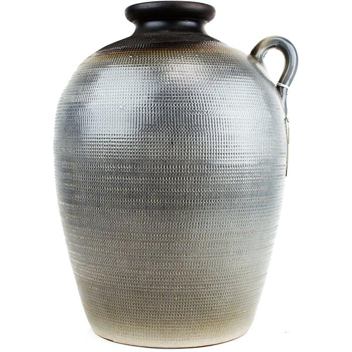 CasaVivante - Latina fles grijs - h37xd37cm