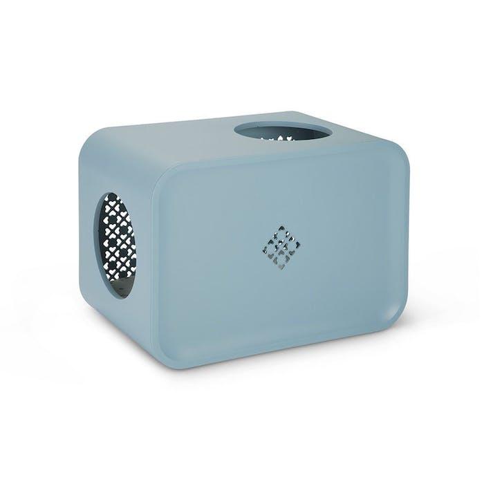 Cat Cube Sleep Blue