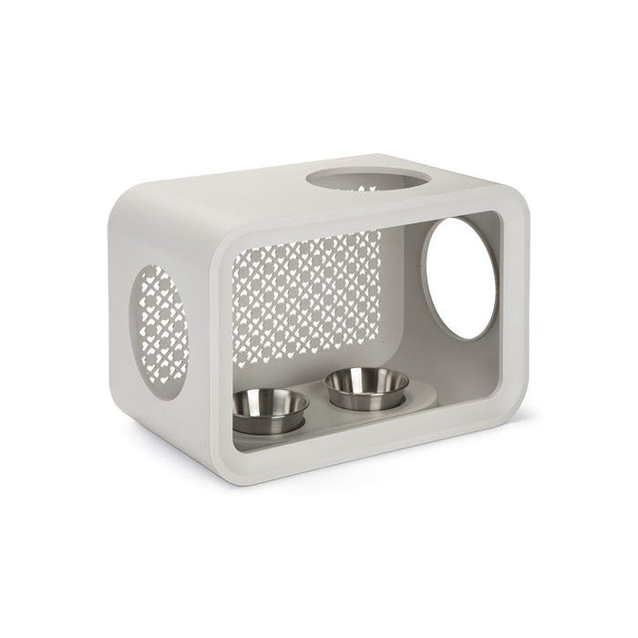Cat Cube Dinner Grey