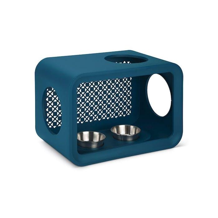 Cat Cube Dinner Petrol