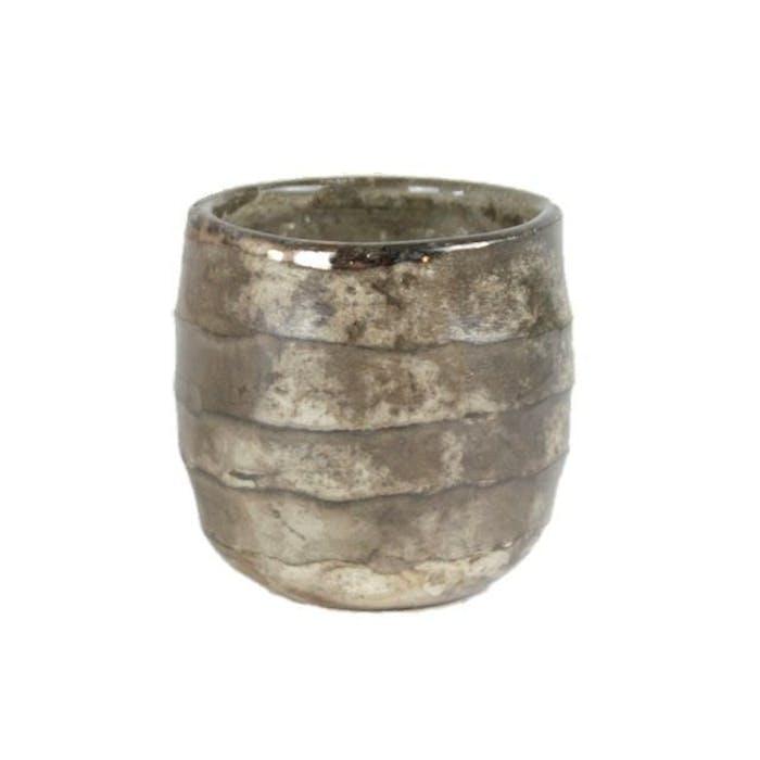 Taglio pot bol oud zilver (p8h8)