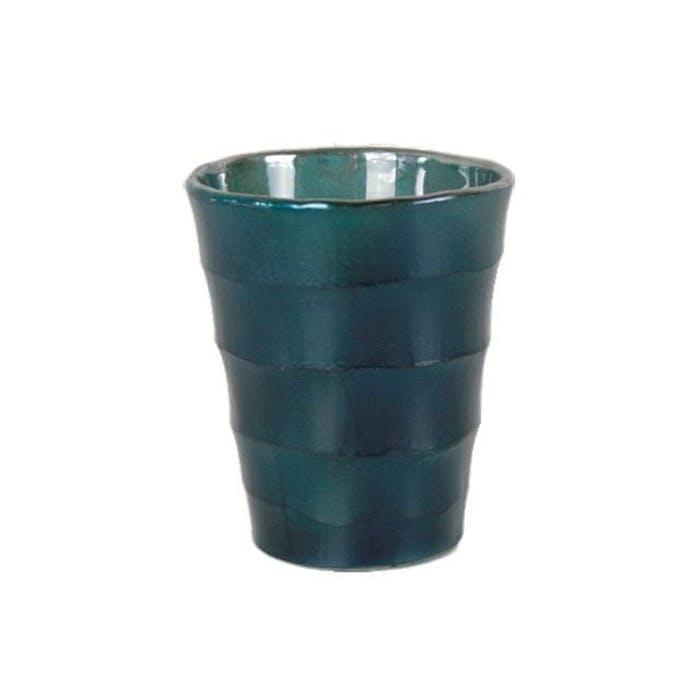 Taglio pot conisch donker blauw (p9h10)