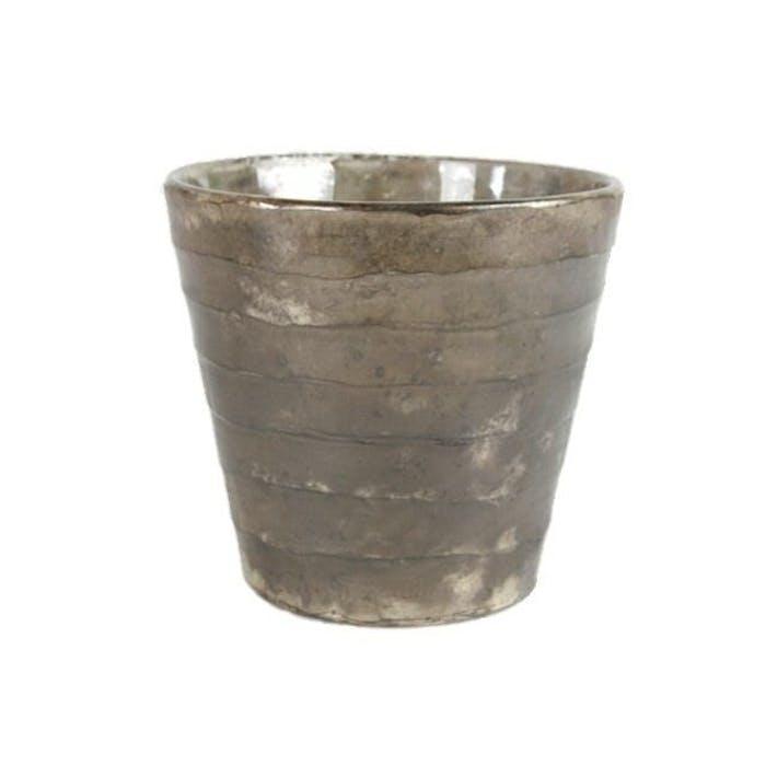 Taglio pot conisch oud zilver (p15h16)