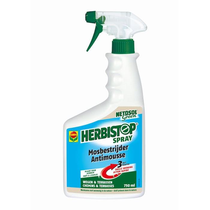 Compo Netosol Green Herbistop Spray Mos 7,5 M² 750 ml
