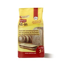 Soezie All-In Brood Zonnebloempitten 2,5Kg
