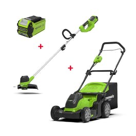 Greenworks combi set