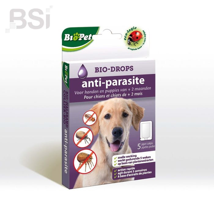 Biopet Bio Drops Hond Anti Parasite