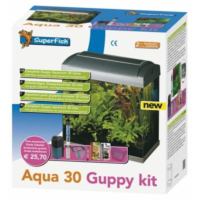 Aquarium set - Aqua 30 guppy kit
