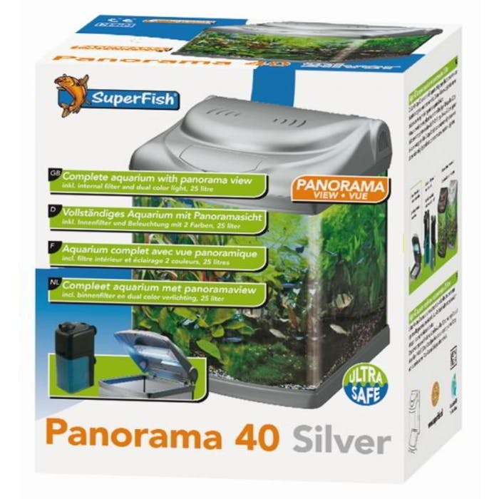 Aquarium - Panorama 40 Silver
