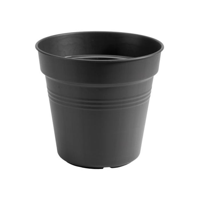 Kweekpot 13cm zwart Green basics