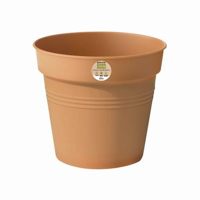 Kweekpot 19cm terra Green basics