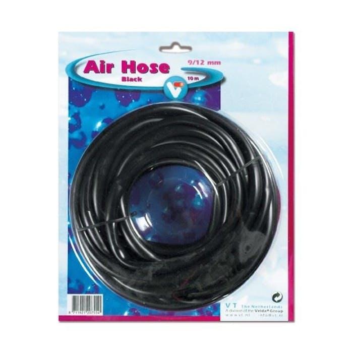 Air hose black 9/12 mm. 10 m