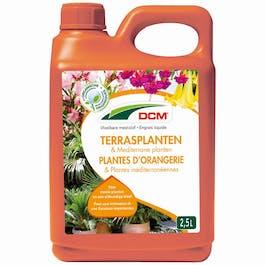 DCM Vloeibare Meststof Terrasplanten & Mediterrane Planten 2,5 L