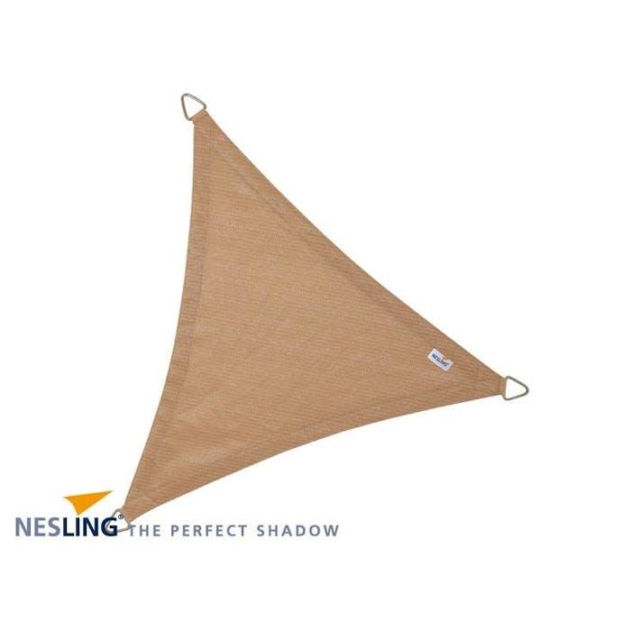 Schaduwdoek driehoek 3.6m zand