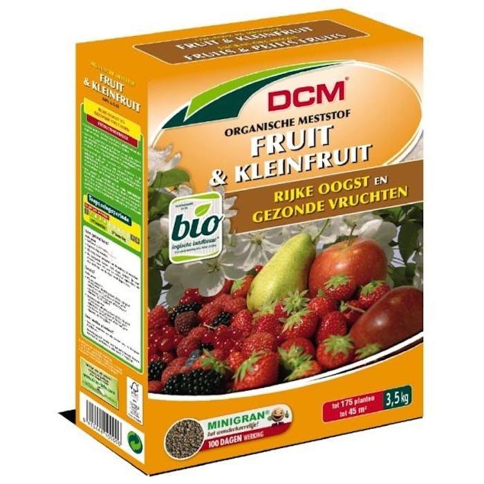 DCM Meststof Aardbeien & Kleinfruit 3,5 kg - BIO