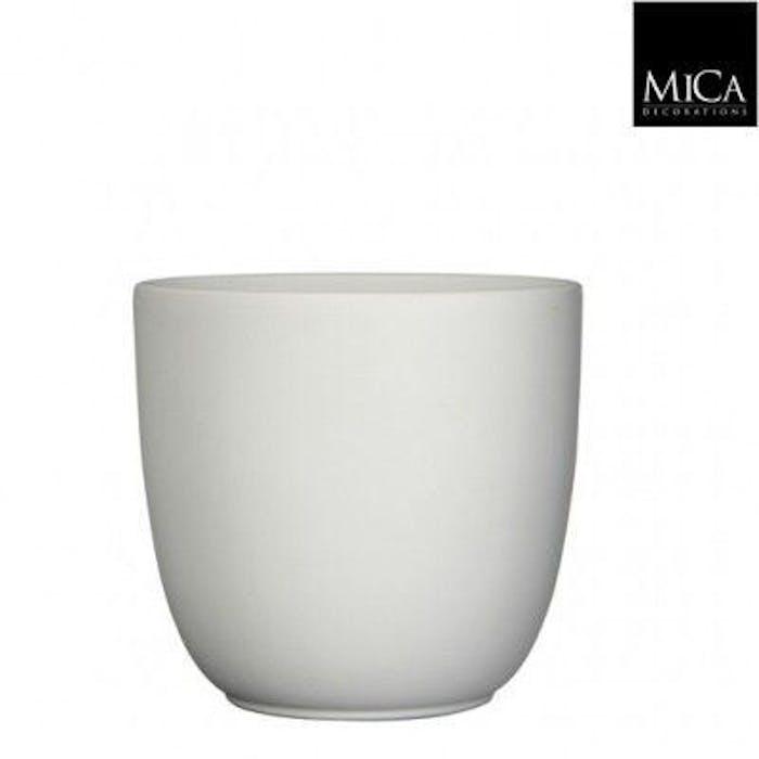 Tusca Overpot Wit 10cm