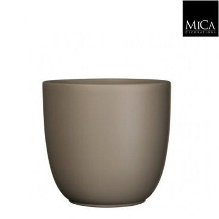 Tusca Overpot Taupe 19,50cm