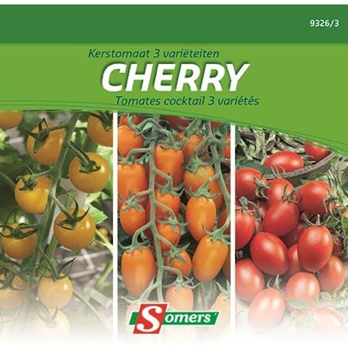 Tomaten cherry 3 varieteiten