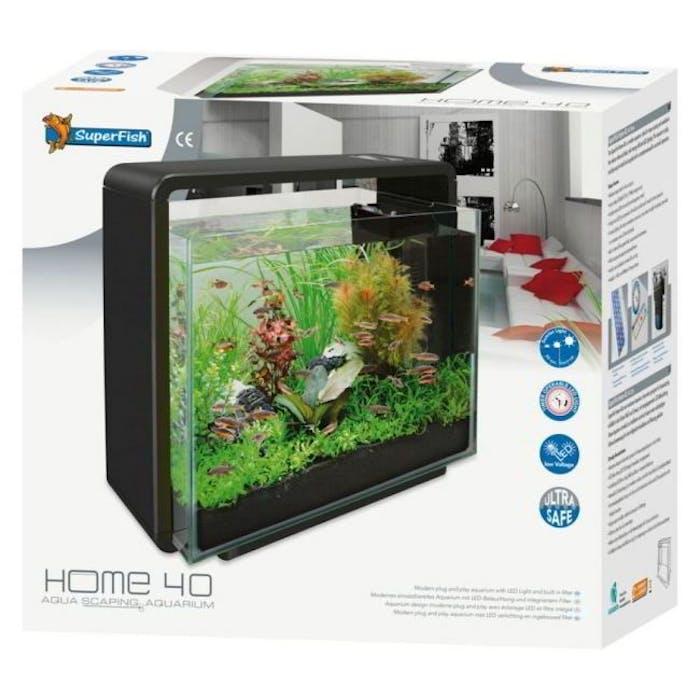 Aquarium Home 40 zwart