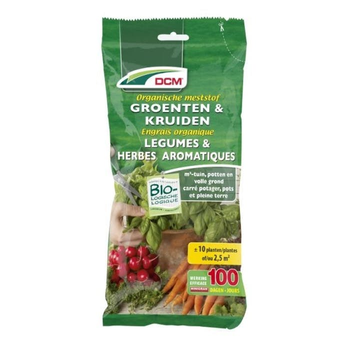 DCM Meststof Groenten & Kruiden 0,2 kg - BIO