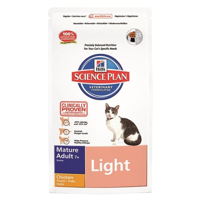 Hill's™ science plan™ feline mature adult 7+  light chicken