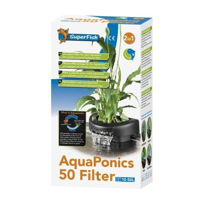 Aquaponics filter 50